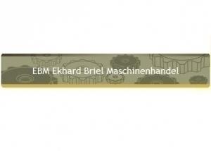 EBM - Ekhard Briel Maschinenhandel